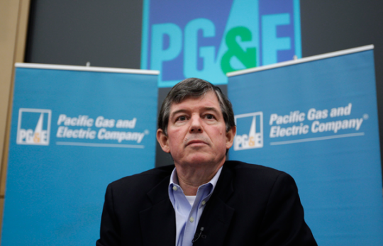 PG&amp;E CEO Anthony Earley Jr. / AP Images