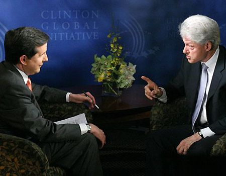 Clinton and Wallace