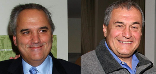 Vin Roberti (AP Images) and Tony Podesta (WikiMedia Commons)