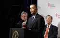 President Obama with Verizon CEO Ivan Seidenberg (right) / AP Images