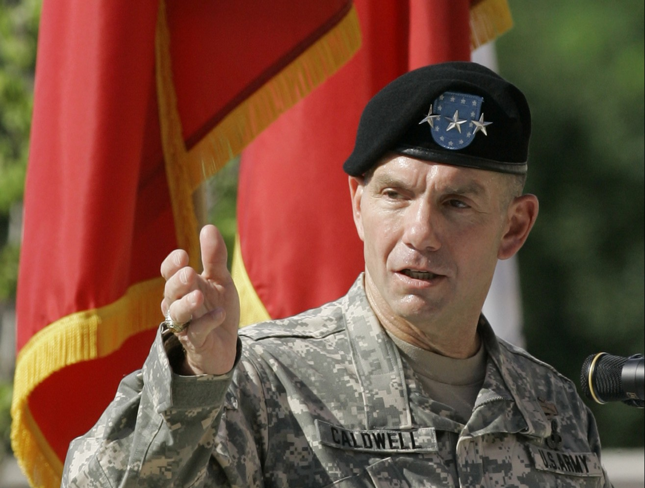 Lt. Gen. William Caldwell / AP