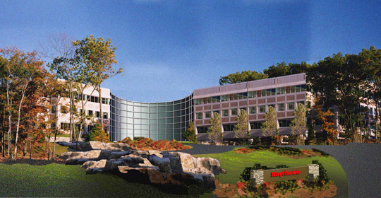 Defense contractor Raytheon's Mass. HQ