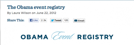 Obama Event Registry