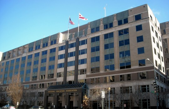 National Education Association headquarters / Wikimedia Commons