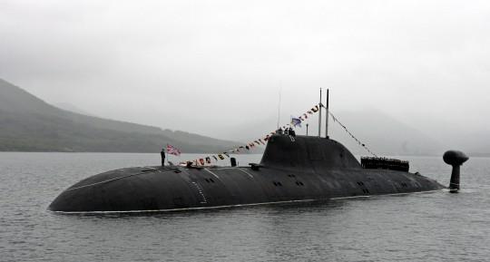 Russian Akula Submarine / AP