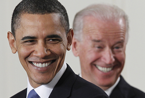 President Obama and Vice President Biden (AP Images)