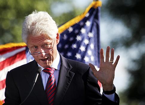 Former President Bill Clinton / AP