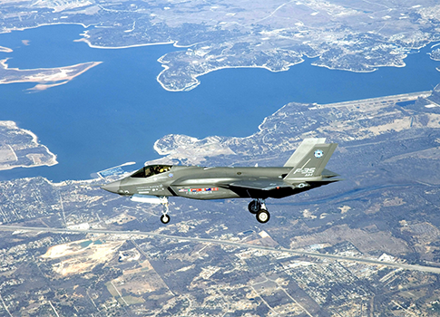 Lockheed Martin F-35 Joint Strike Fighter / AP