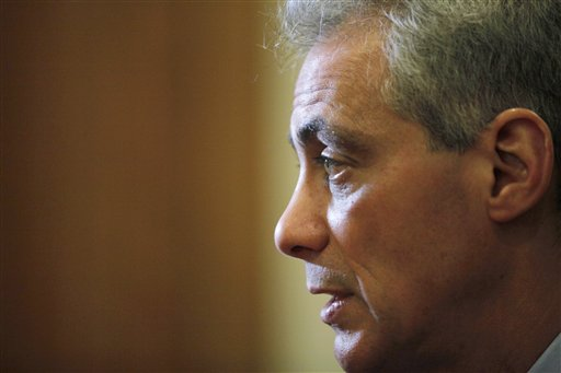 Rahm Emanuel / AP