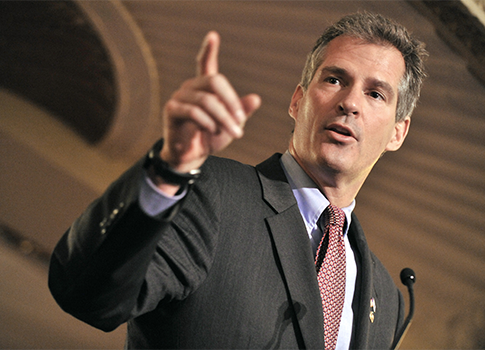Sen. Scott Brown / AP