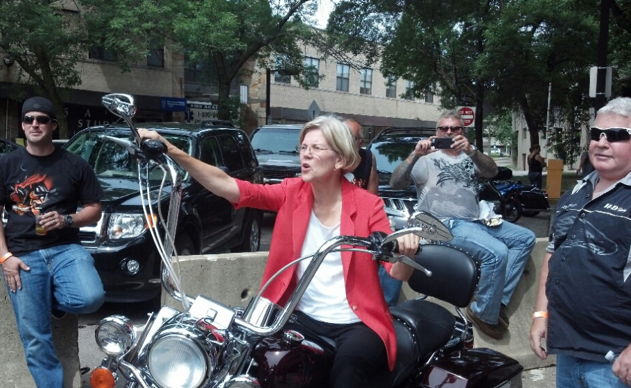 Elizabeth Warren / Emily's List Twitter