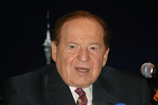 Sheldon Adelson / Wikimedia Commons