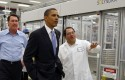 Barack Obama, Ben Bierman, Chris Gronet / AP