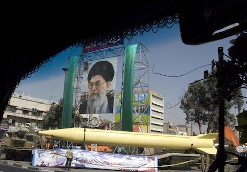 Iranian military exhibition / AP