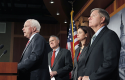 Arizona Sens. McCain, Kyl, Ayotte, Graham / AP