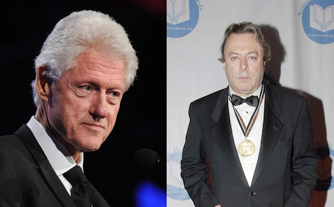 Bill Clinton / Christopher Hitchens