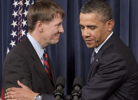 Richard Cordray, President Obama / AP