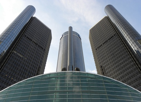 GM headquarters in Detroit / Flickr