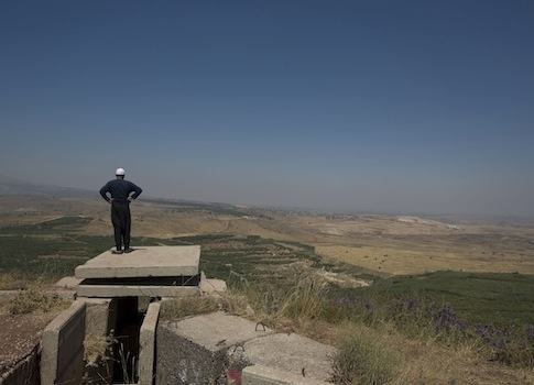 Golan Heights / AP