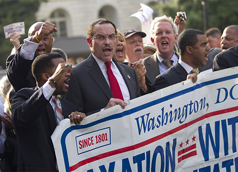 Mayor Vincent Gray 2011 / AP