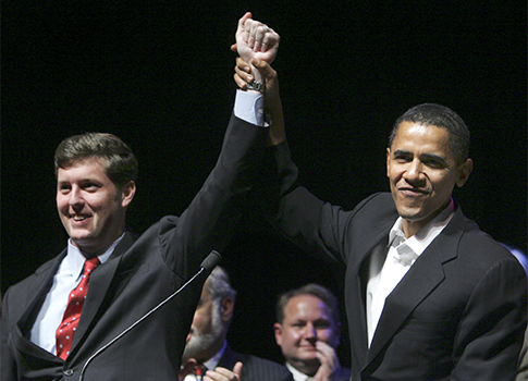 Patrick Murphy, Barack Obama 2006 / AP