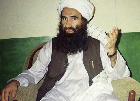 Jalaluddin Haqqani, founder of Haqqani Network / AP