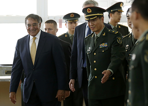 Sec. of Defense Leon Panetta in Beijing, China 9/19/12