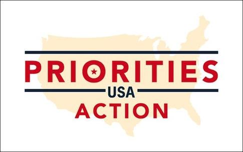 Priorities USA logo