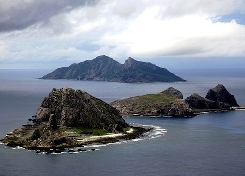 The Senkaku Islands / AP