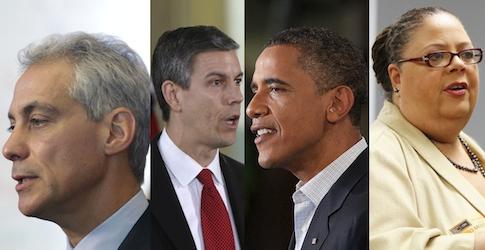 Emanuel, Duncan, Obama, Lewis