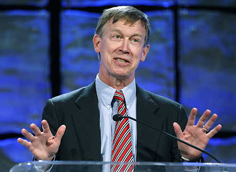 Colorado Gov. John Hickenlooper / AP
