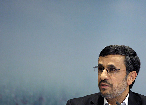 Iranian President Ahmadinejad / AP