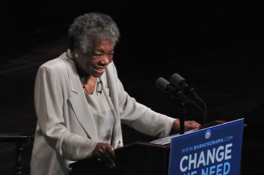 Maya Angelou (Talbot Troy/Creative Commons)