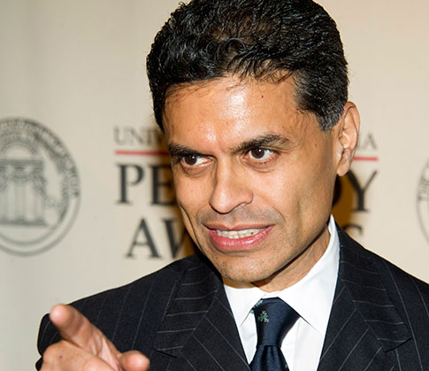 Noted plagiarist Fareed Zakaria / AP