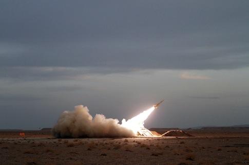 Iran military drill / AP