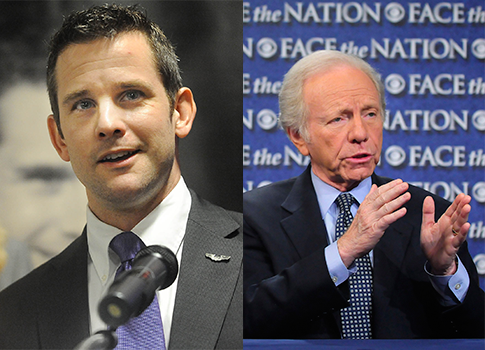 Kinzinger, Lieberman / AP