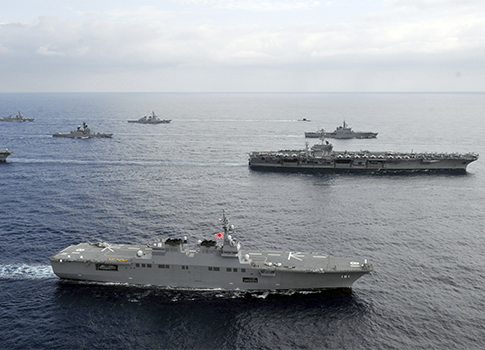 U.S. Navy aircraft carriers / AP
