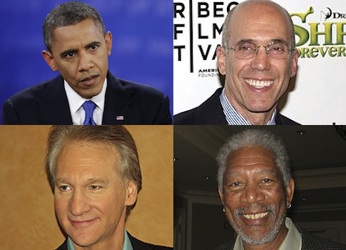 Obama / AP Katzenberg, Maher, Freeman / Wikimedia Commons