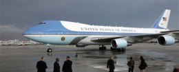 President Obama's private jet  / AP