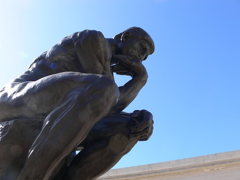 Rodin's 'The Thinker' / Wikimedia Commons