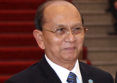 Burmese President Thein Sein / AP