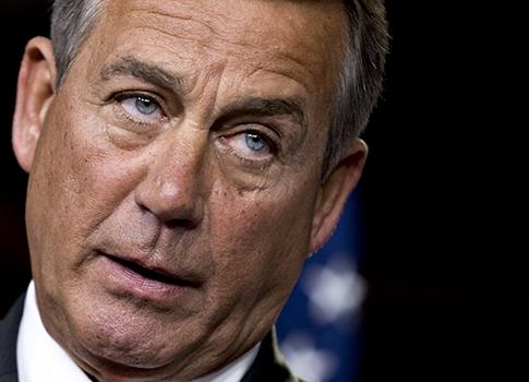 House Speaker John Boehner / AP
