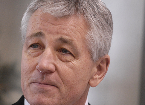 Former Sen. Chuck Hagel / AP