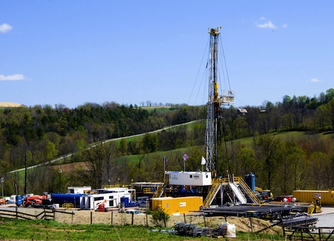 Fracking in Pennsylvania / AP