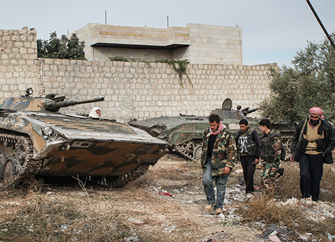 Free Syrian Army rebels / AP