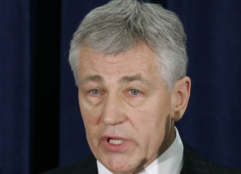 Chuck Hagel / AP