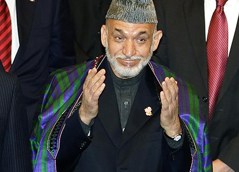 Afghanistan President Hamid Karzai / AP