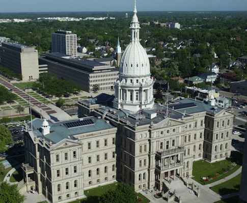Michigan Capitol building / AP