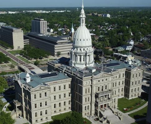 Michigan Capitol building / AP