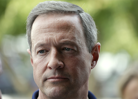 Former Maryland Gov. Martin O'Malley / AP
